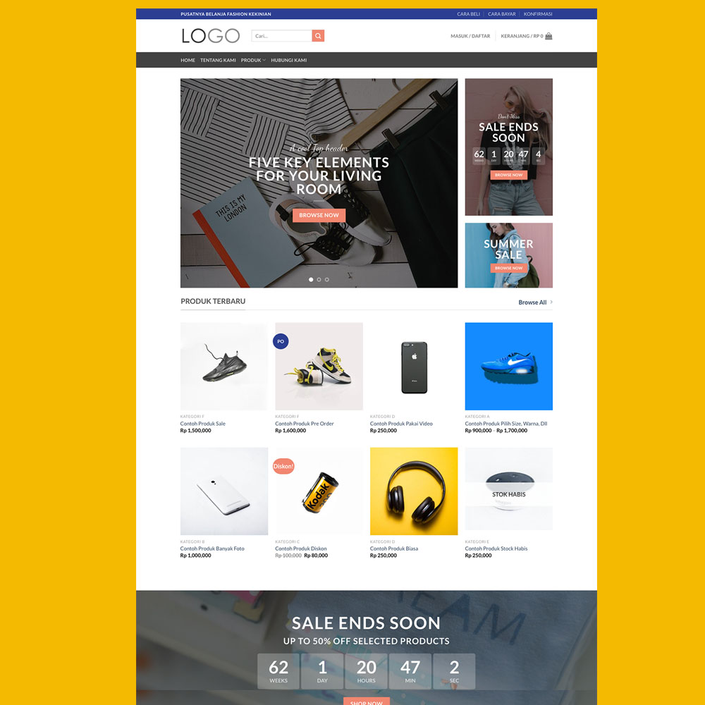 Pomo Jasa Pembuatan Website